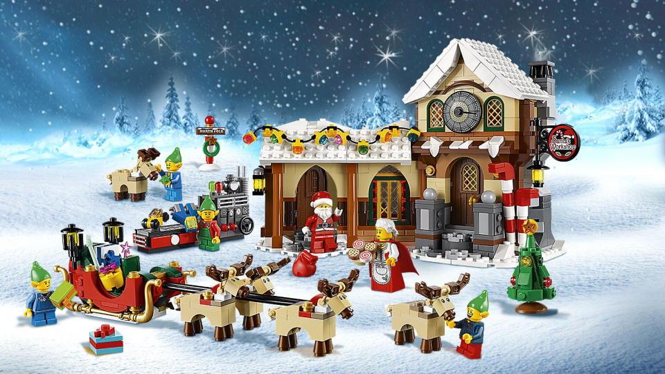 Prezenty LEGO na Mikołaja