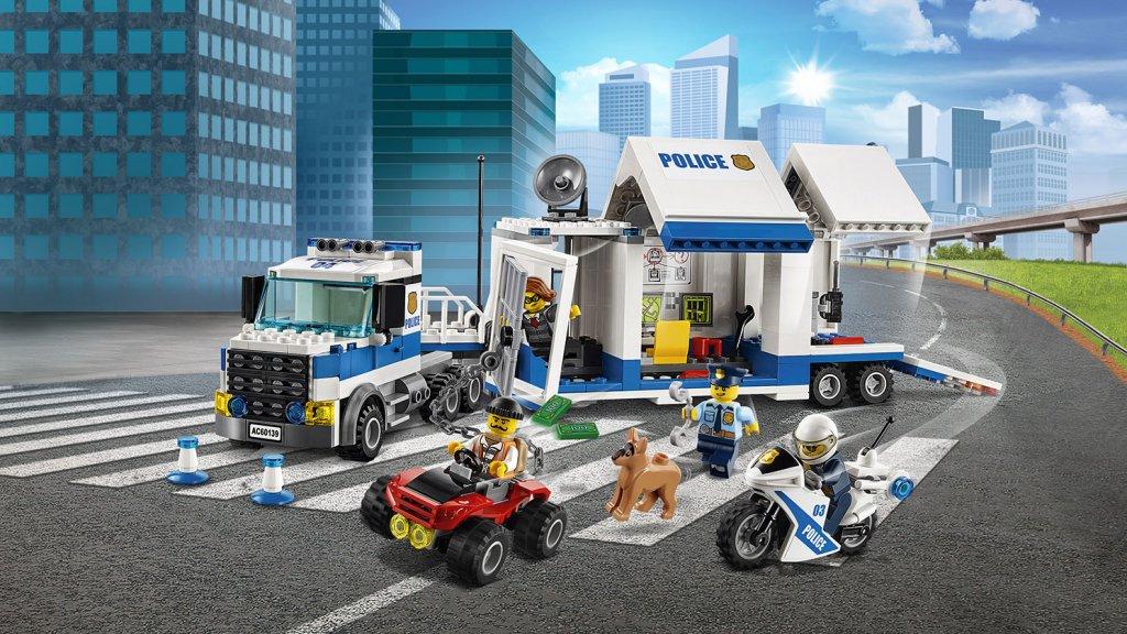 Lego 60139 - Lego City 60139 Mobilne centrum dowodzenia