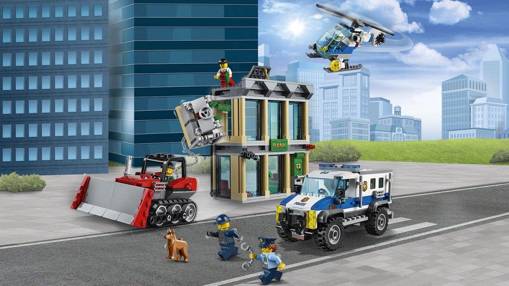 Lego 60140 - Lego City 60140 Włamanie buldożerem