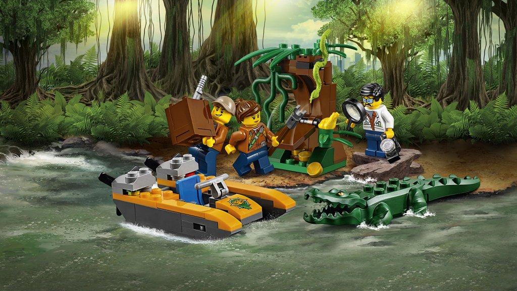 LEGO 60157 - LEGO City 60157 Dżungla - zestaw startowy