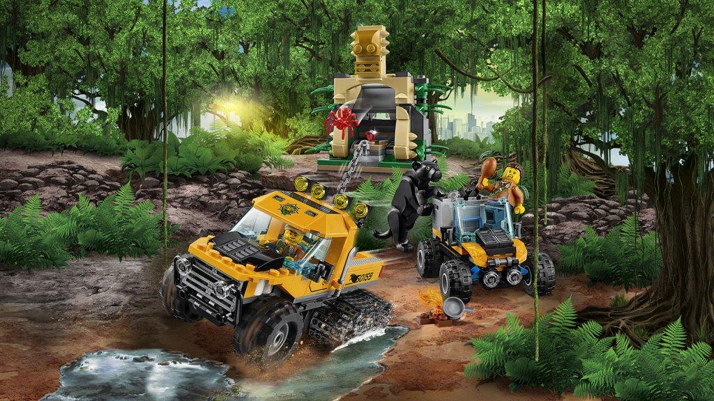 LEGO 60159 - LEGO City 60159 Misja półgąsienicowej terenówki