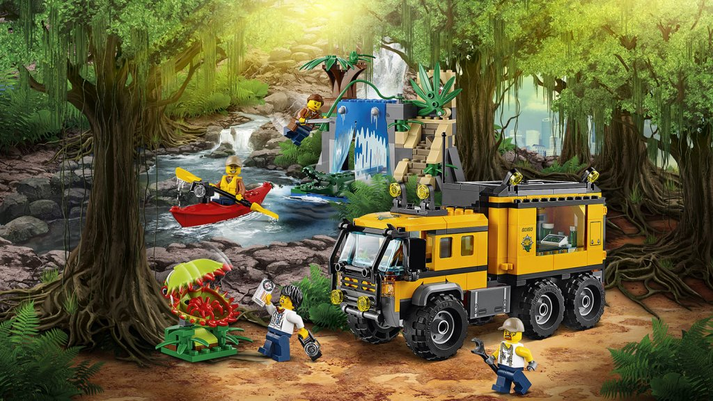 LEGO 60160 - LEGO City 60160 Mobilne laboratorium