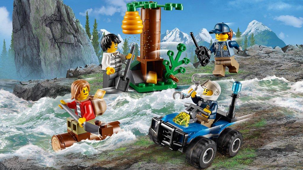Lego 60171 - Lego City 60171 Uciekinierzy w górach