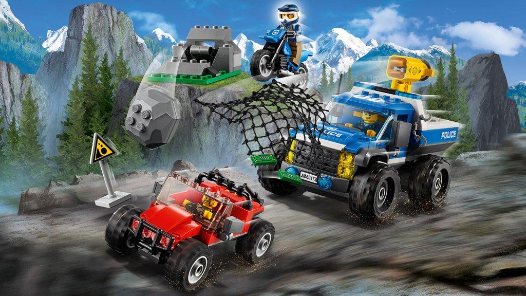 Lego 60172 - Lego City 60172 Pościg górską drogą