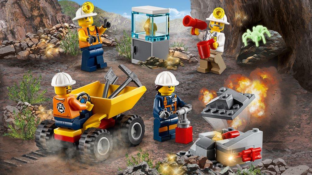 Lego 60184 - Lego City 60184 Ekipa górnicza
