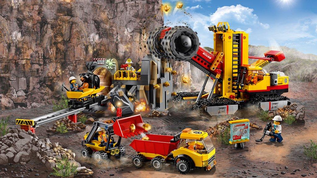 Lego 60188 - Lego City 60188 Kopalnia