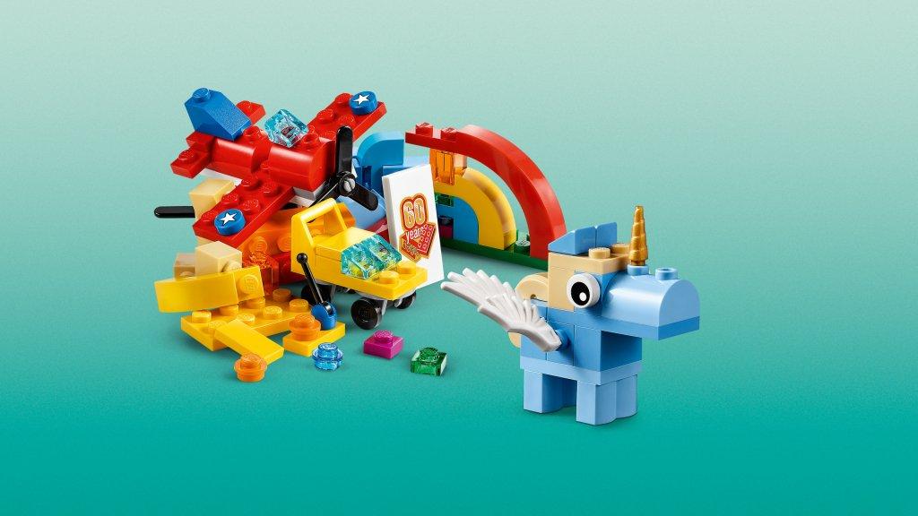 Lego 10401 - Lego Classic 10401 Tęczowa zabawa
