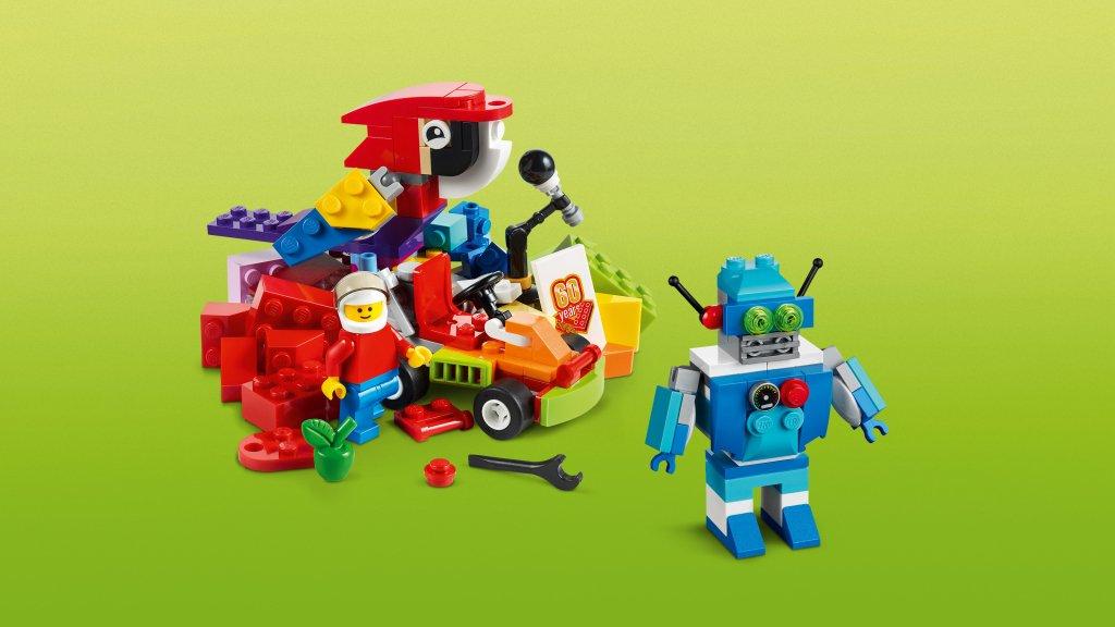 Lego 10402 - Lego Classic 10402 Wyprawa w przyszłość