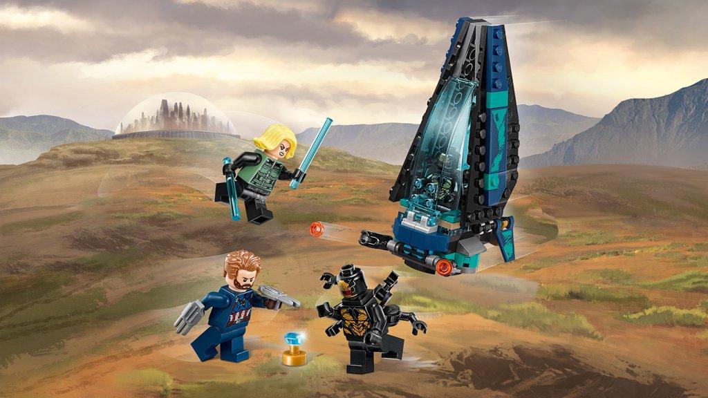 LEGO 76101 - LEGO Marvel Super Heroes 76101 Atak statku Outriderów