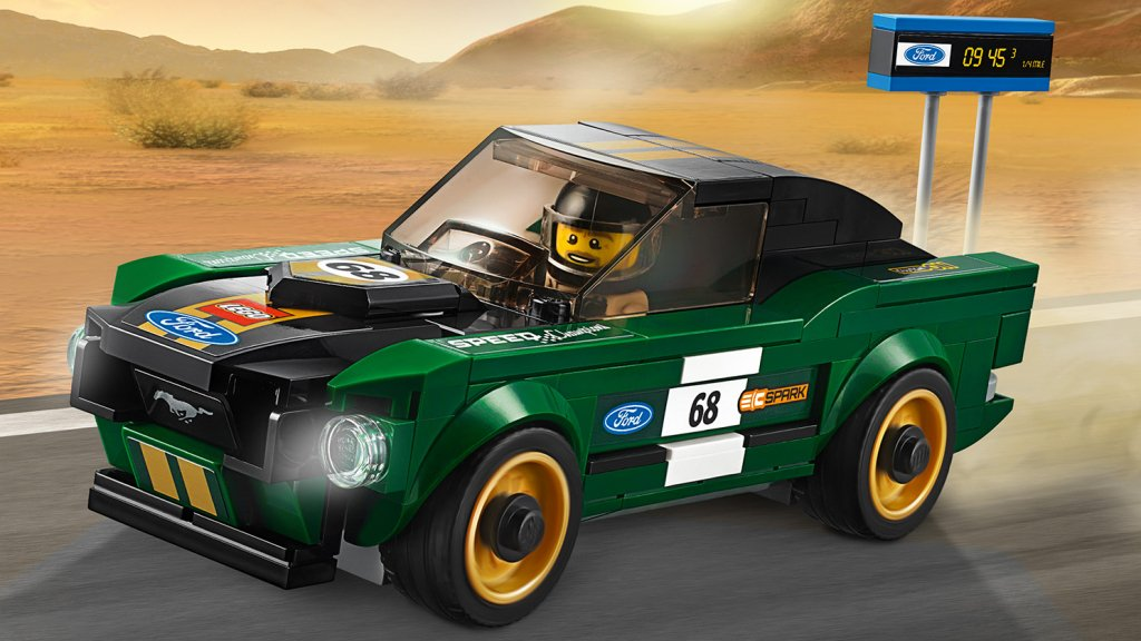 LEGO 75884 - LEGO Speed Champions 75884 Ford Mustang Fastback z 1968 r.