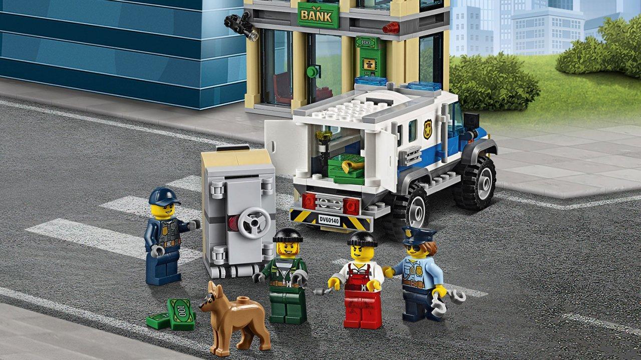 Lego 60140 City Włamanie buldożerem