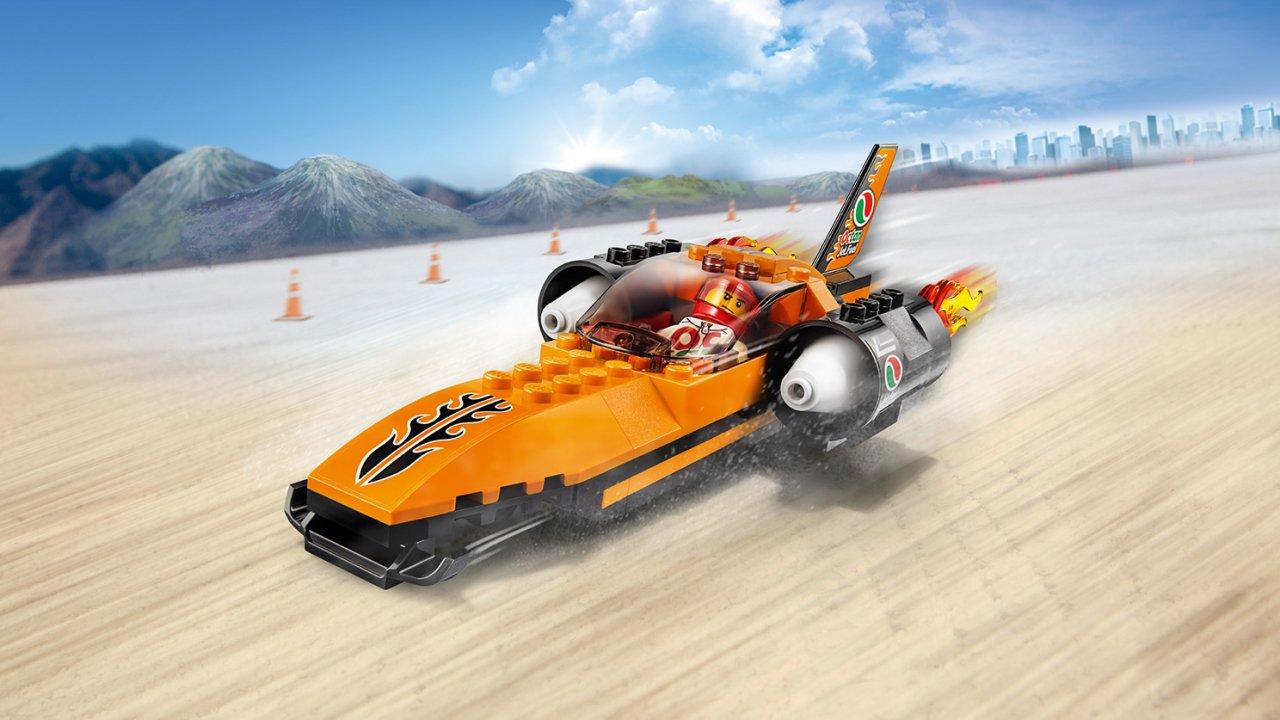 Lego 60178 City Wyścigowy samochód