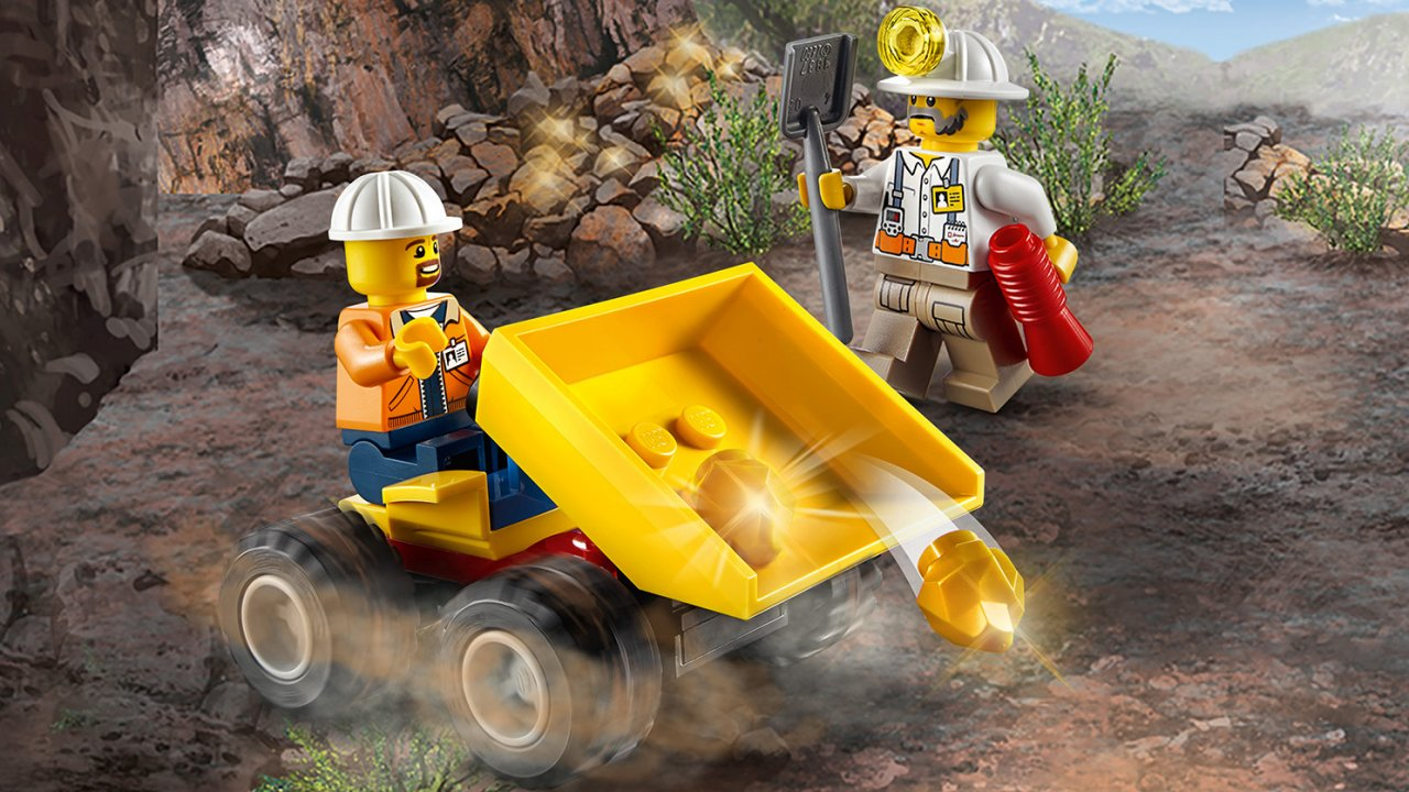 Lego 60184 Ekipa górnicza