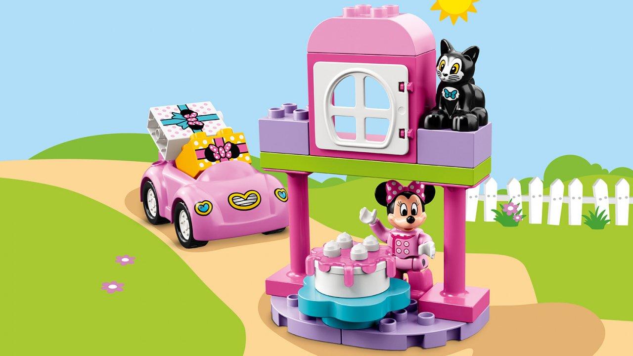 Lego 10873 Duplo® Przyjęcie urodzinowe Minnie