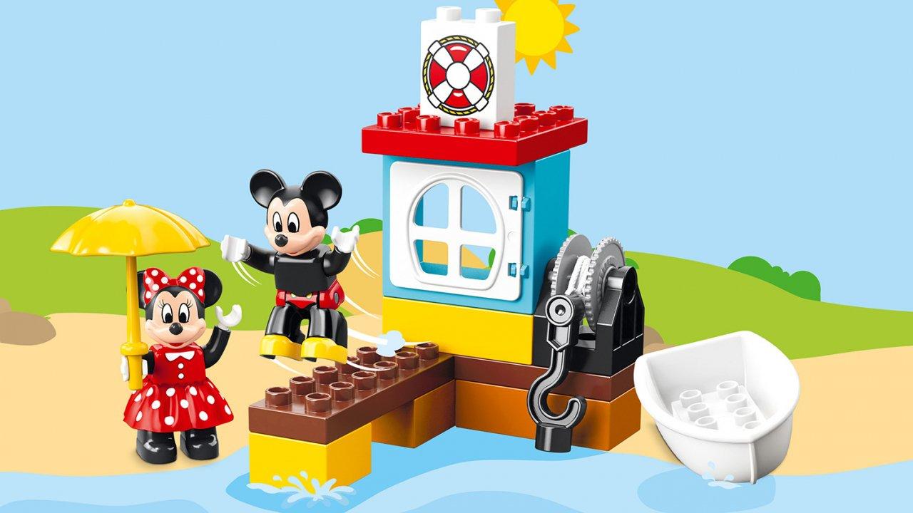 Lego 10881 Łódka Mikiego