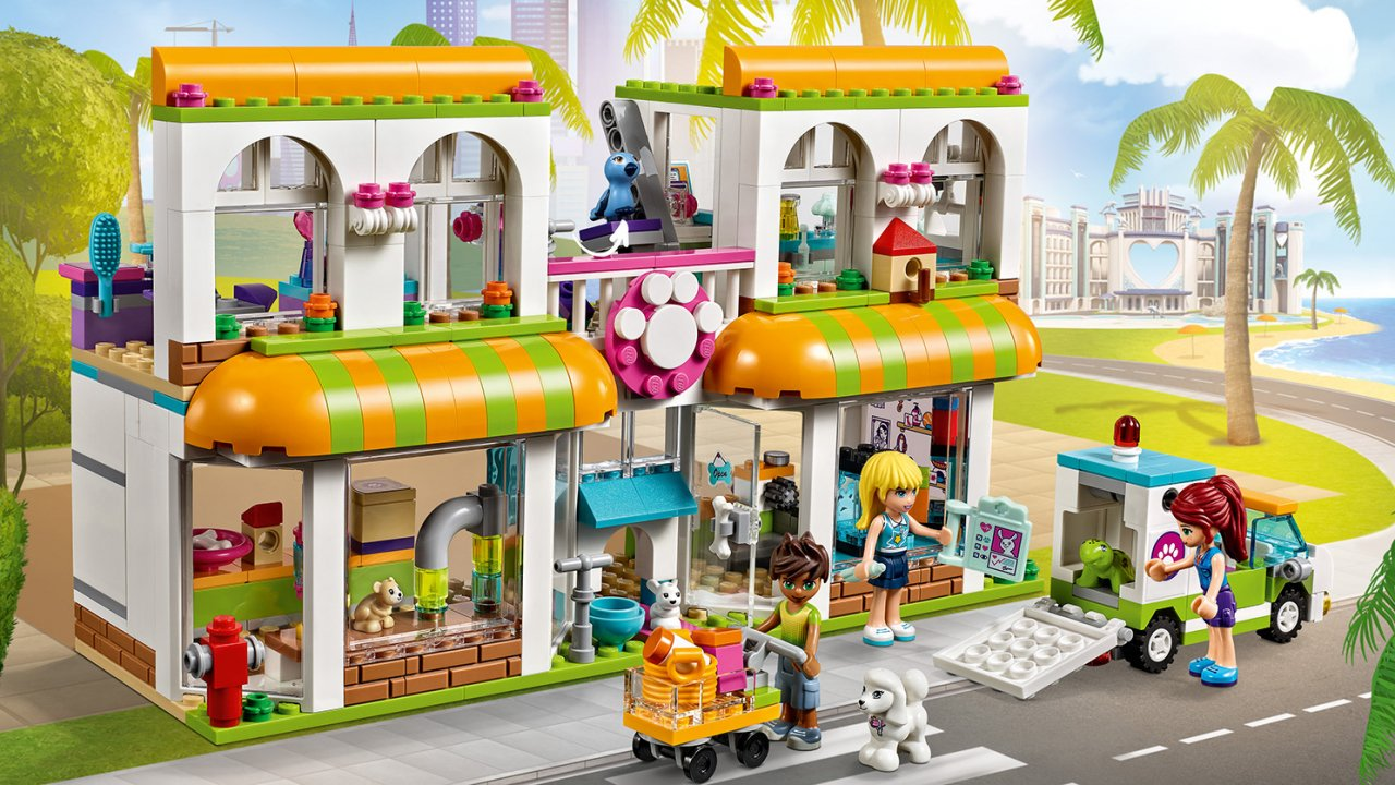 Lego Friends Centrum zoologiczne w Heartlake