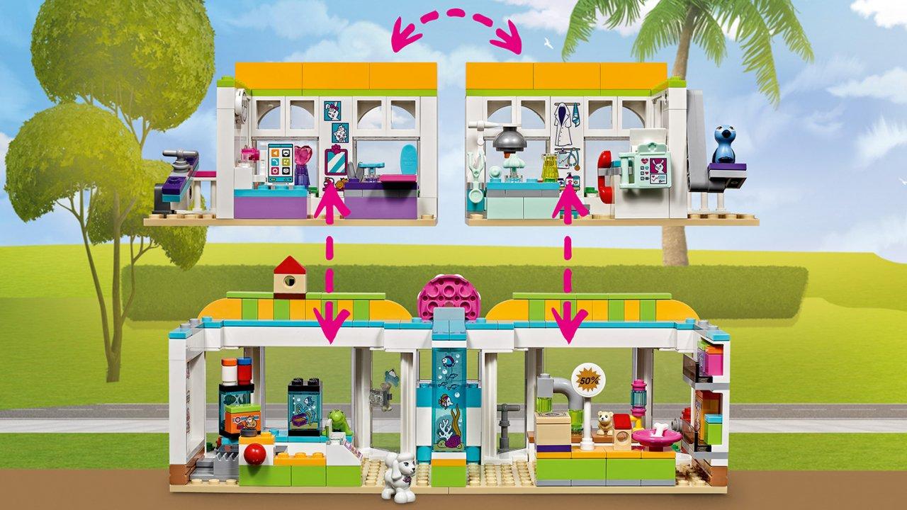 Lego 41345 Centrum zoologiczne w Heartlake