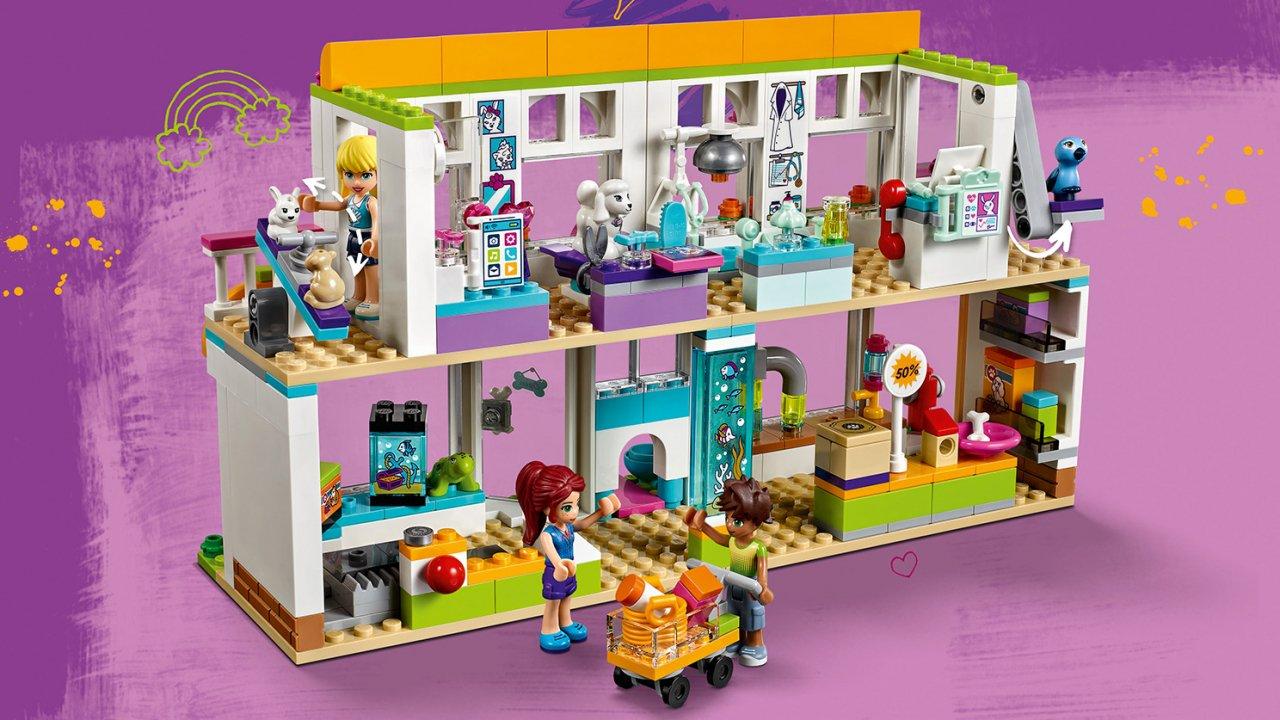 Lego Friends 41345 Centrum zoologiczne w Heartlake