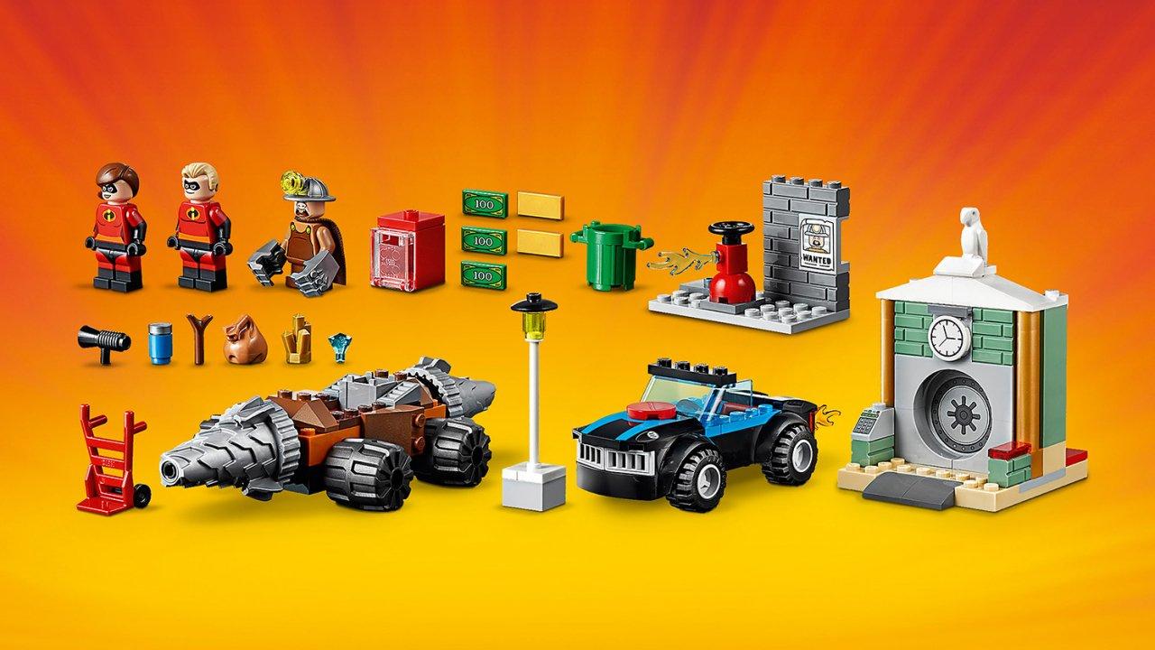 Lego Juniors Napad Człowieka Szpadla na bank 10760
