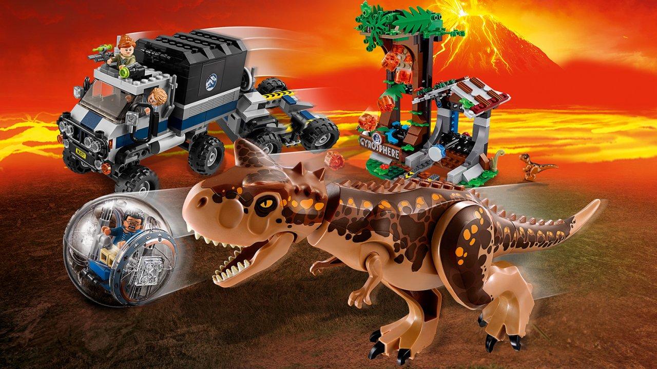 Lego 75929 Jurassic World™ Ucieczka przed karnotaurem