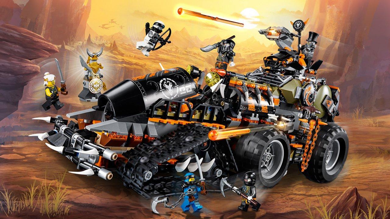 Lego Ninjago® Dieselnauta