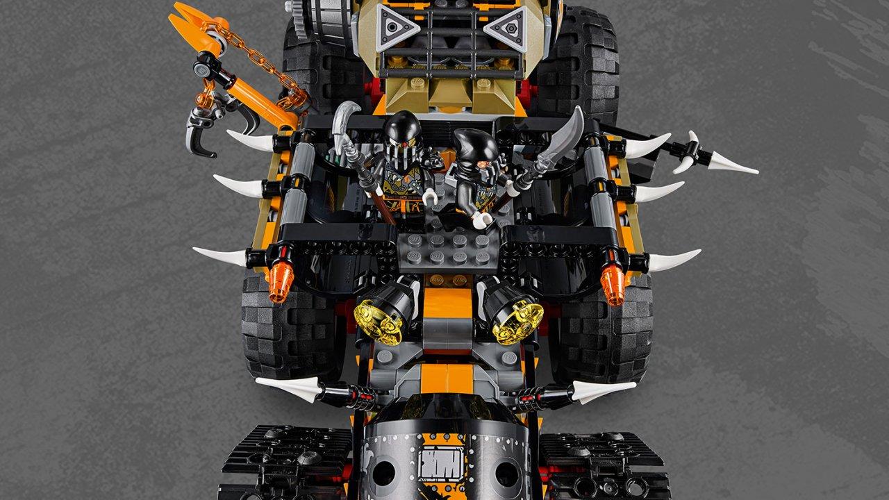 Lego 70654 Ninjago® Dieselnauta
