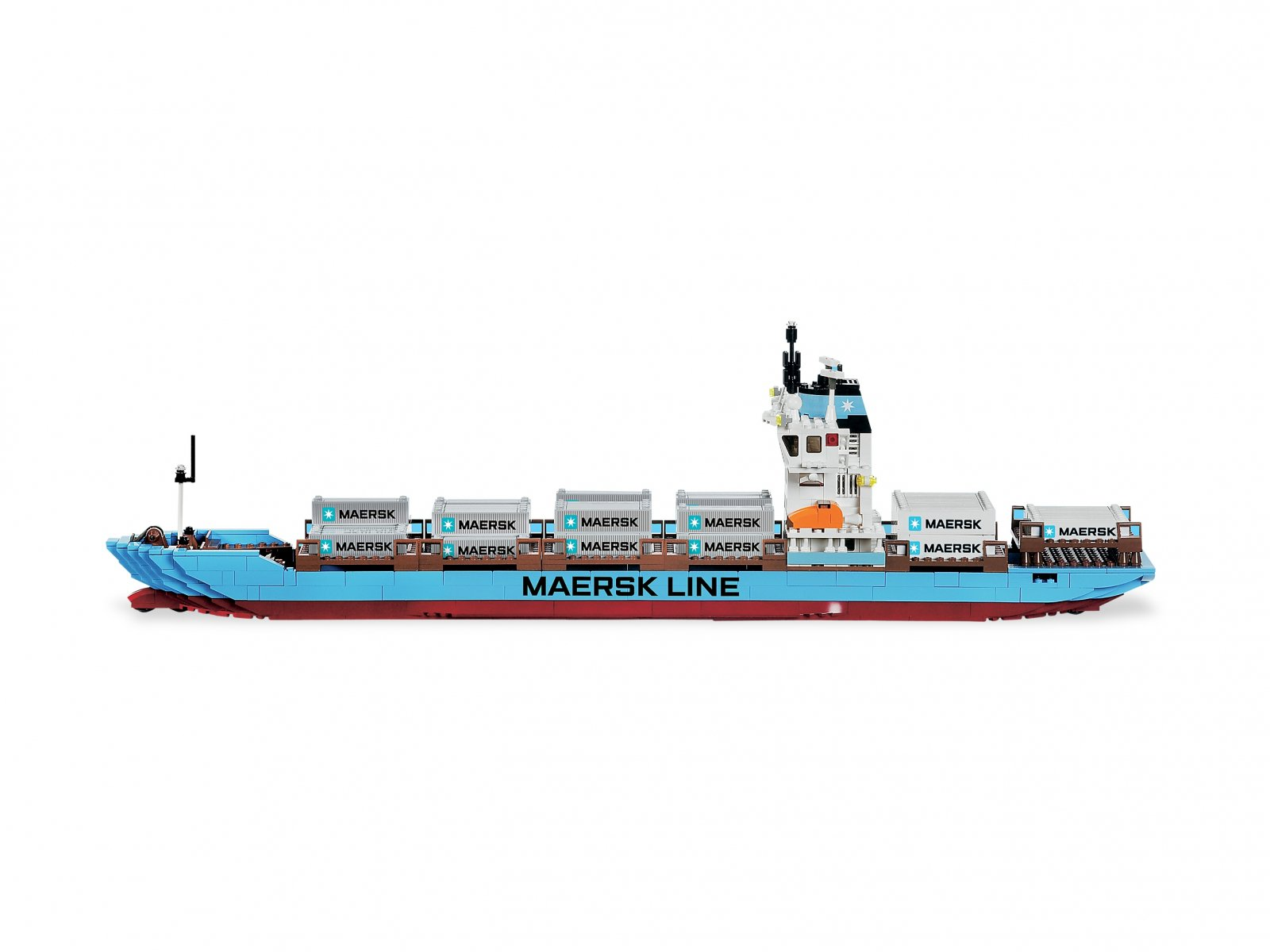 LEGO 10155 Maersk Line Container Ship