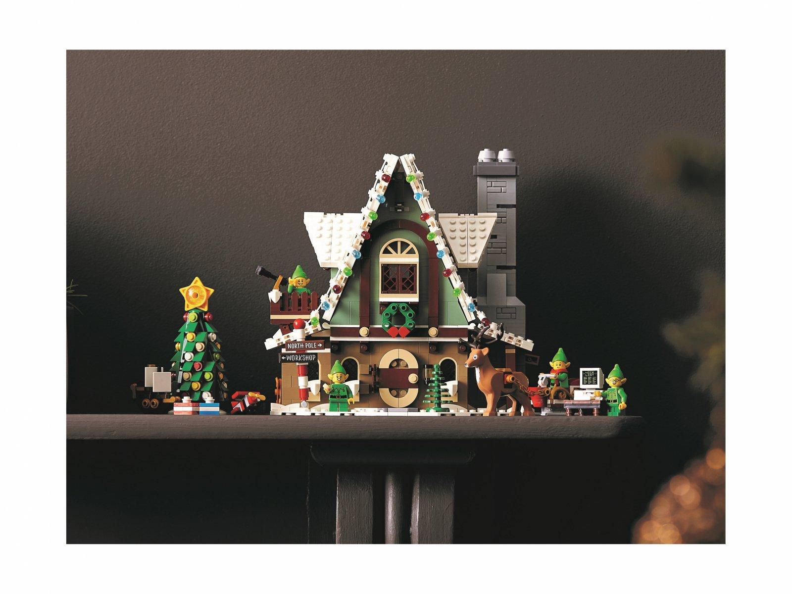 LEGO 10275 Domek elfów