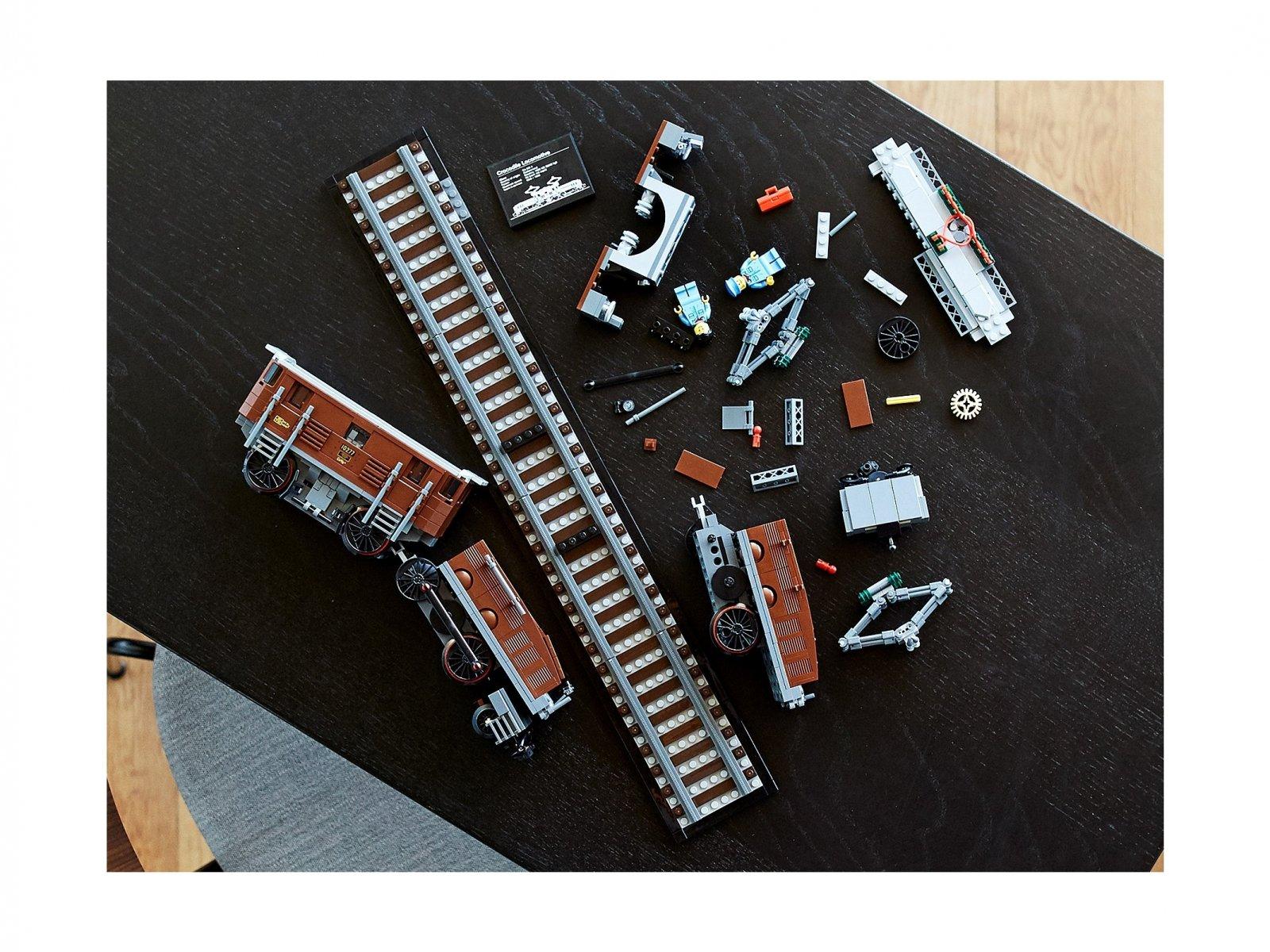 LEGO Lokomotywa Crocodile 10277