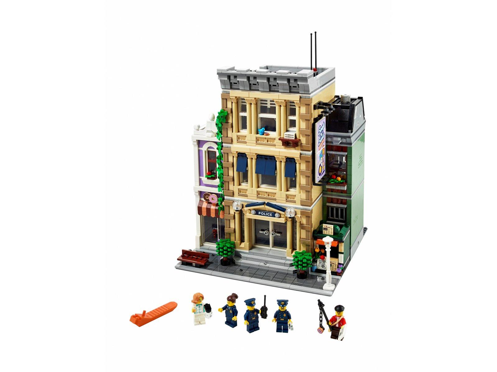 LEGO 10278 Posterunek policji