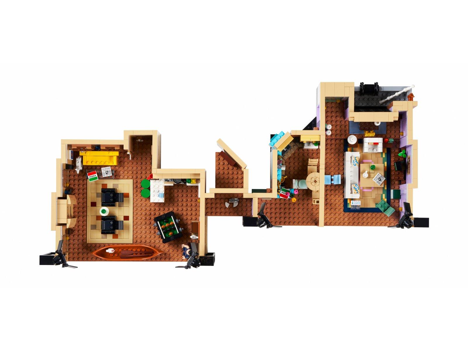 LEGO 10292 Mieszkania z serialu Przyjaciele