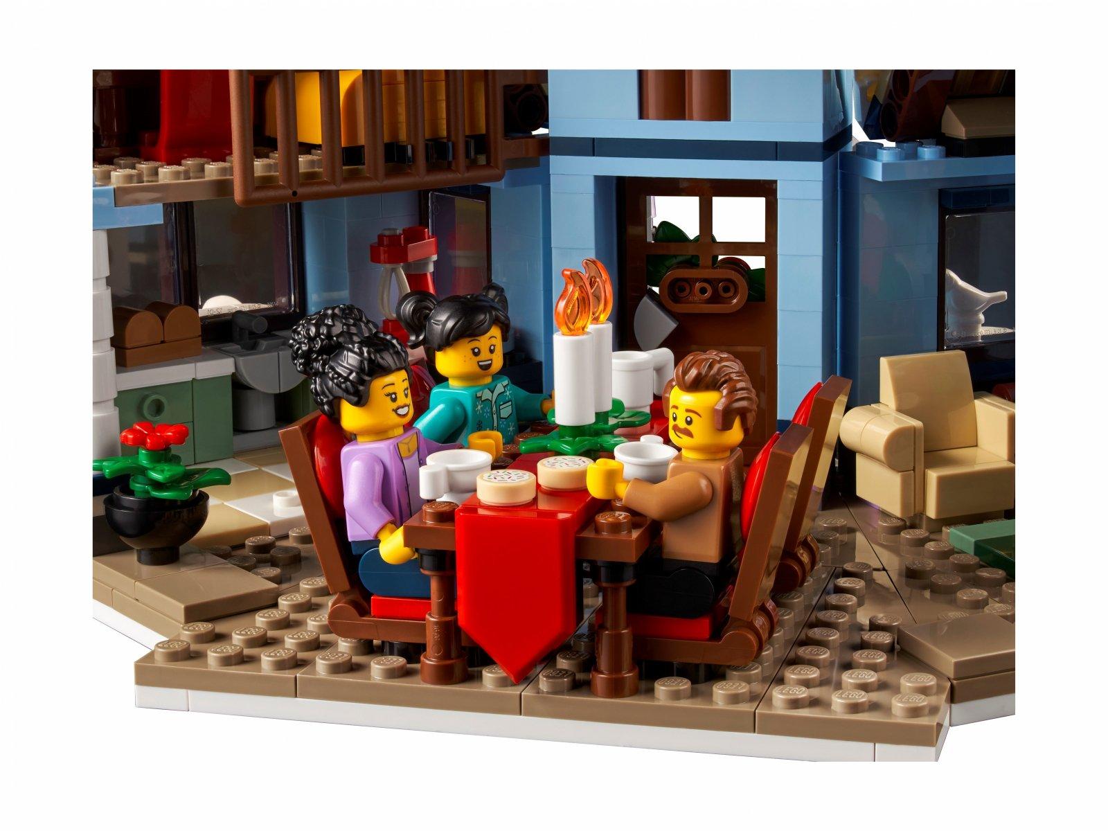 LEGO 10293 Wizyta Świętego Mikołaja