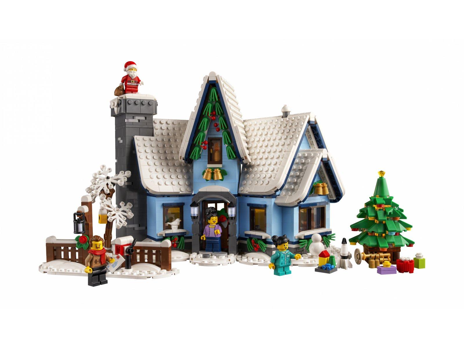 LEGO Wizyta Świętego Mikołaja 10293