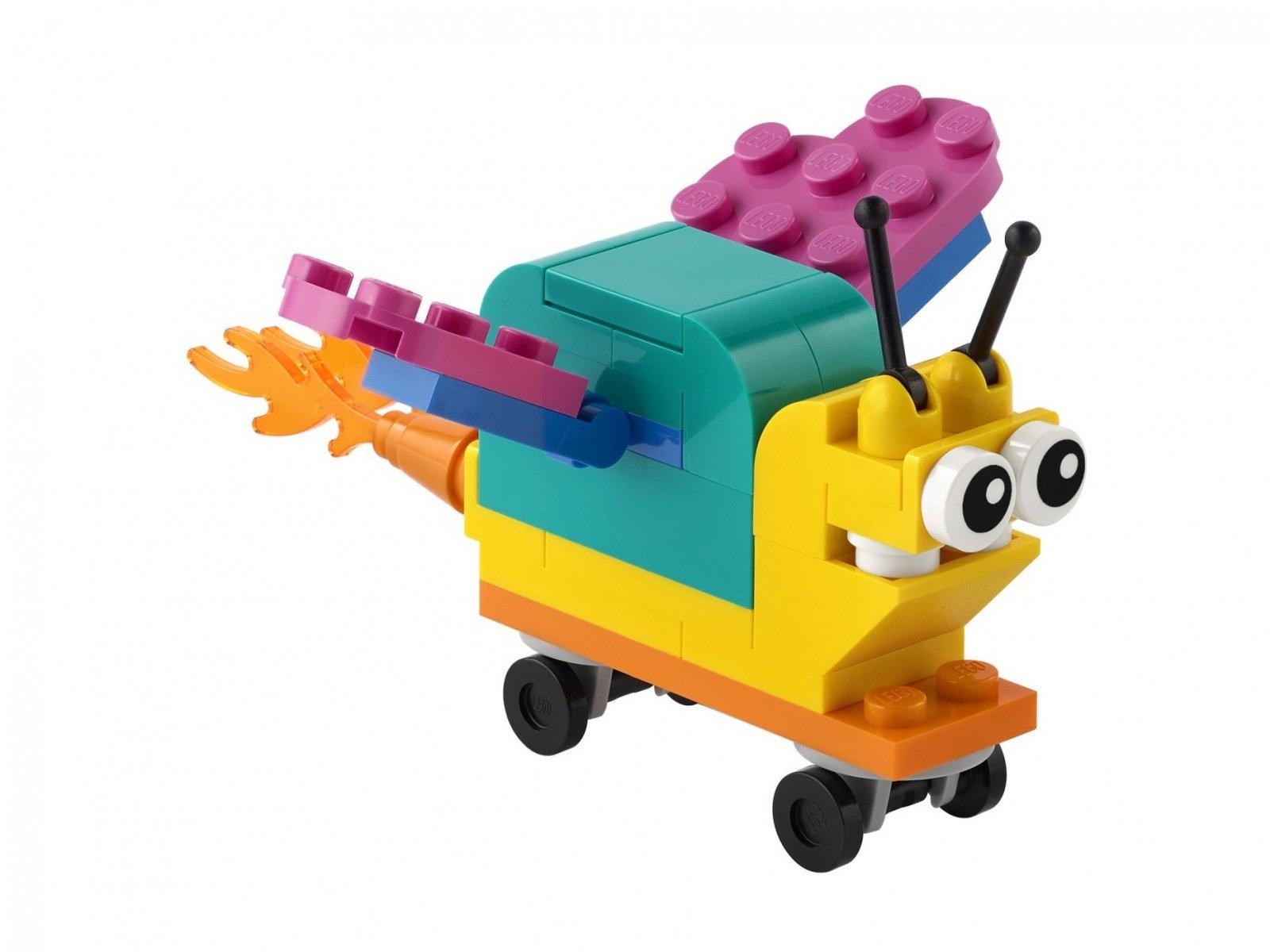 LEGO Zbuduj własnego superślimaka 30563
