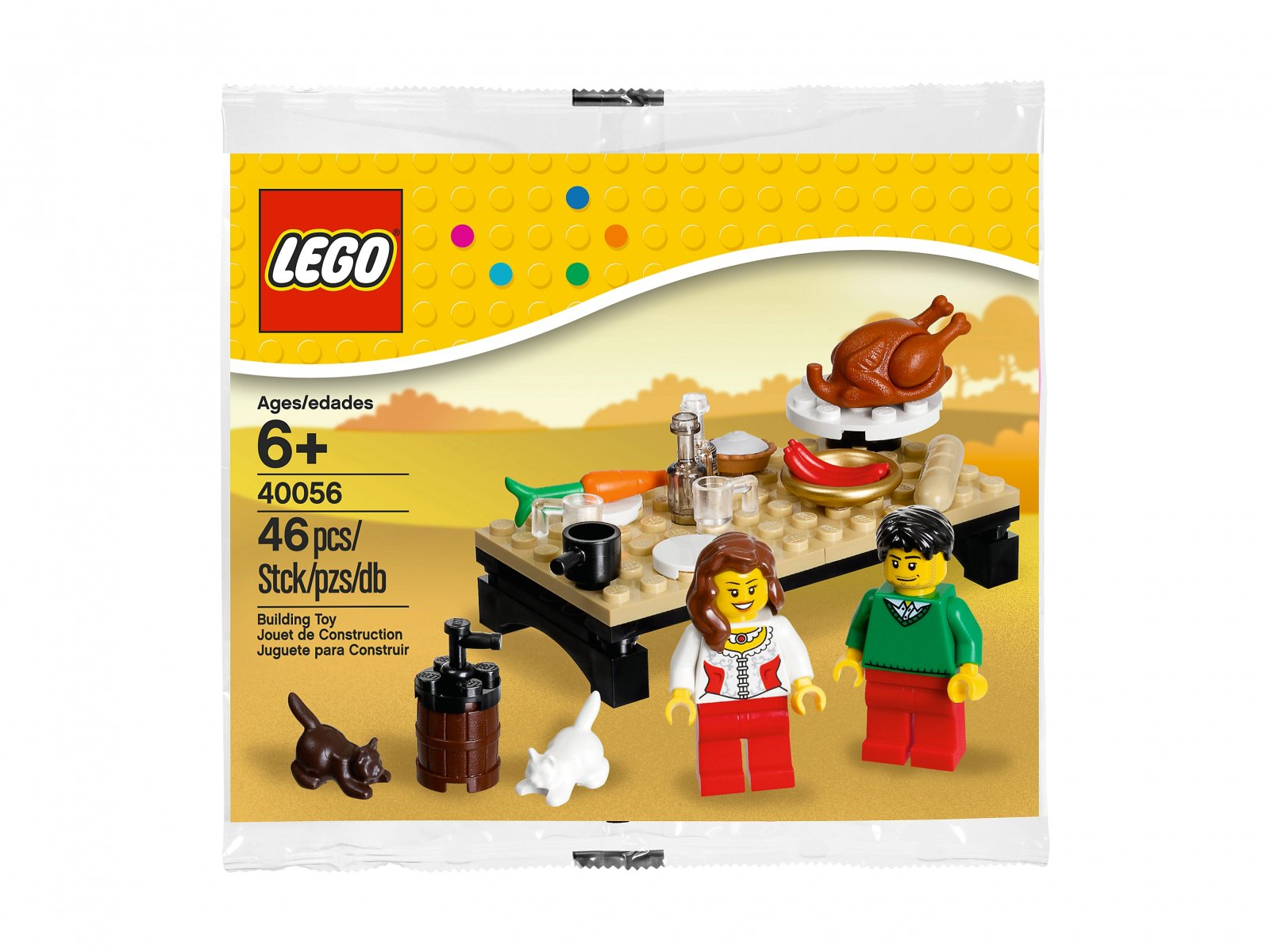 LEGO 40056 Thanksgiving Feast