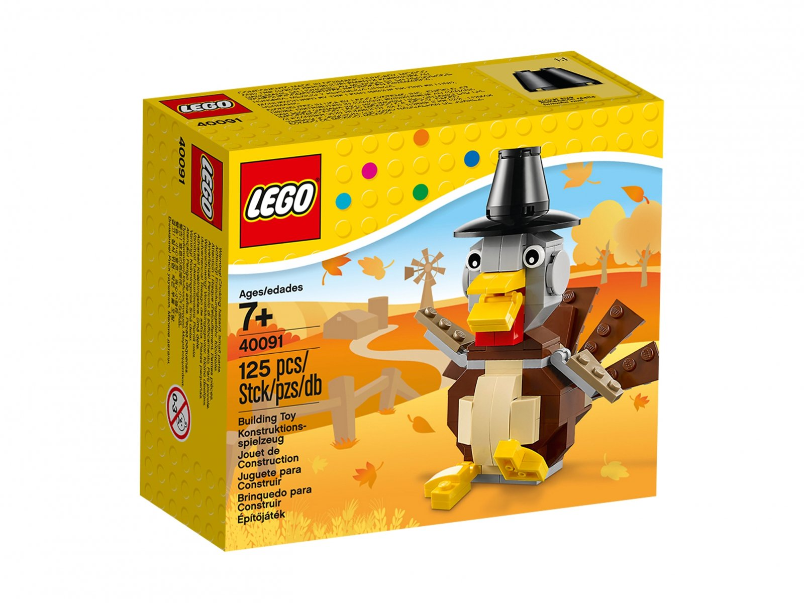 LEGO 40091 Thanksgiving Turkey
