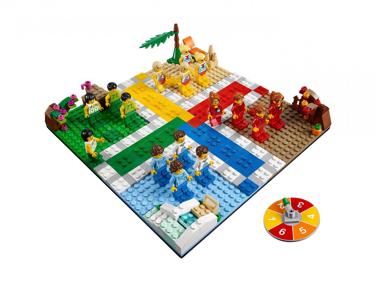 Lego 40198 Gra Lego Ludo Porównaj Ceny Zklockówpl