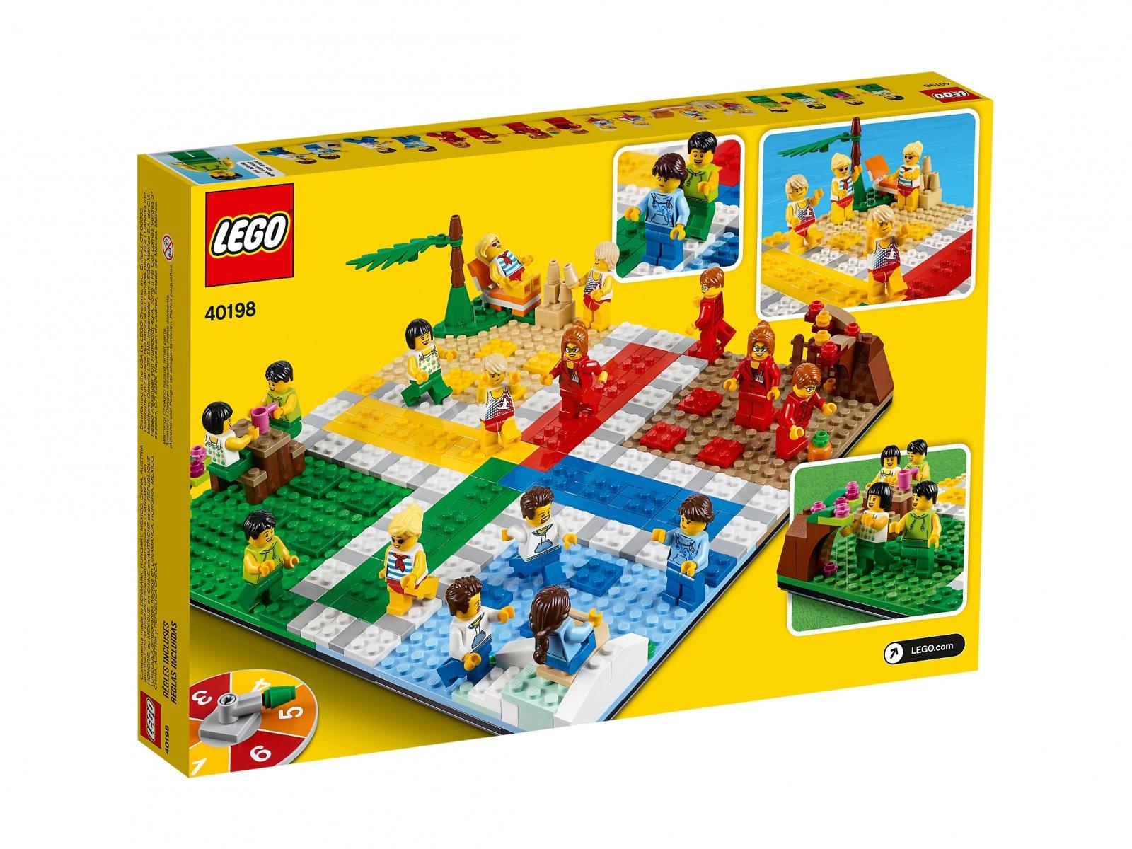 LEGO 40198 Gra LEGO® Ludo