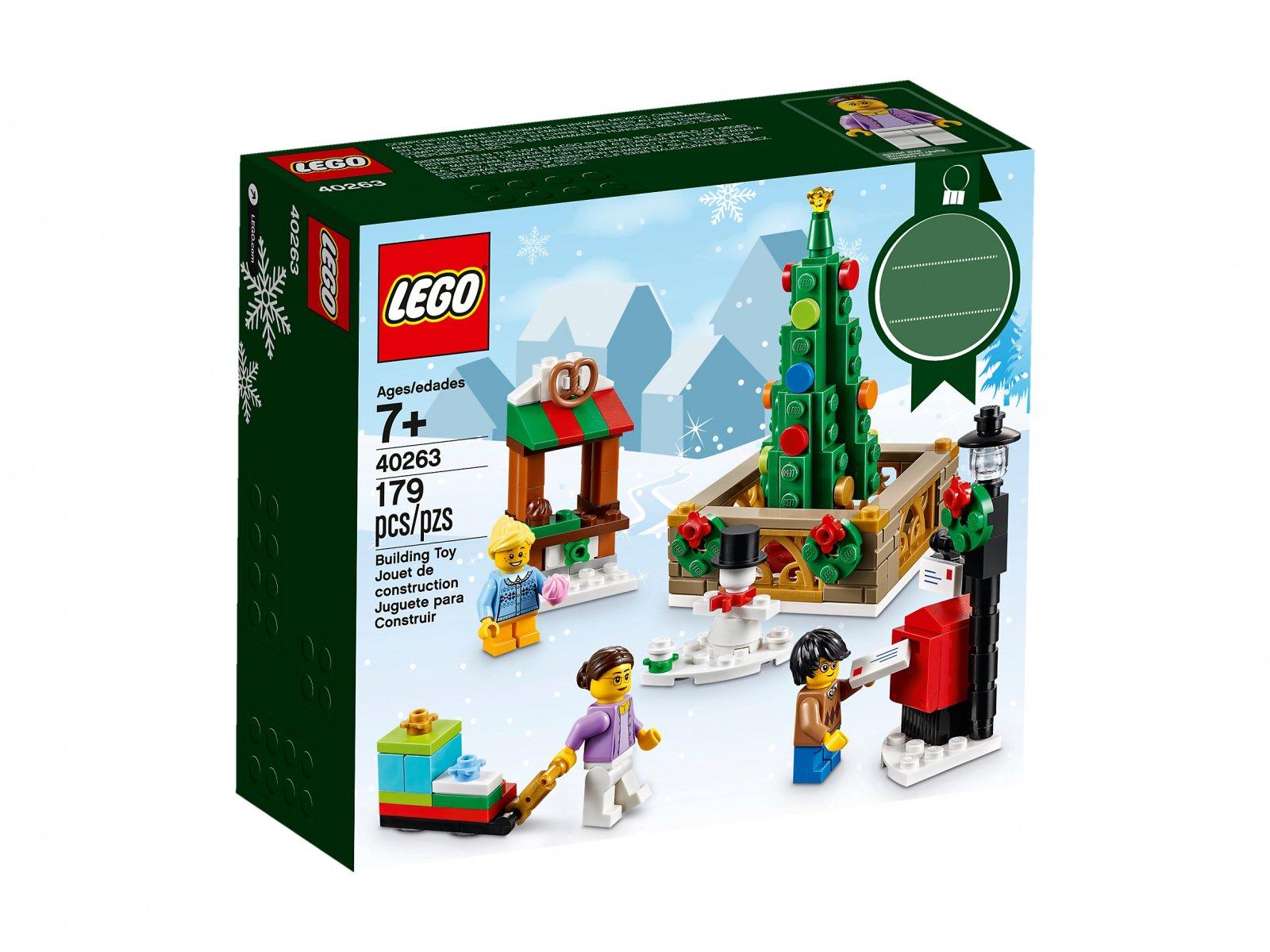 Lego 40263 świąteczny Rynek Porównaj Ceny Zklockówpl