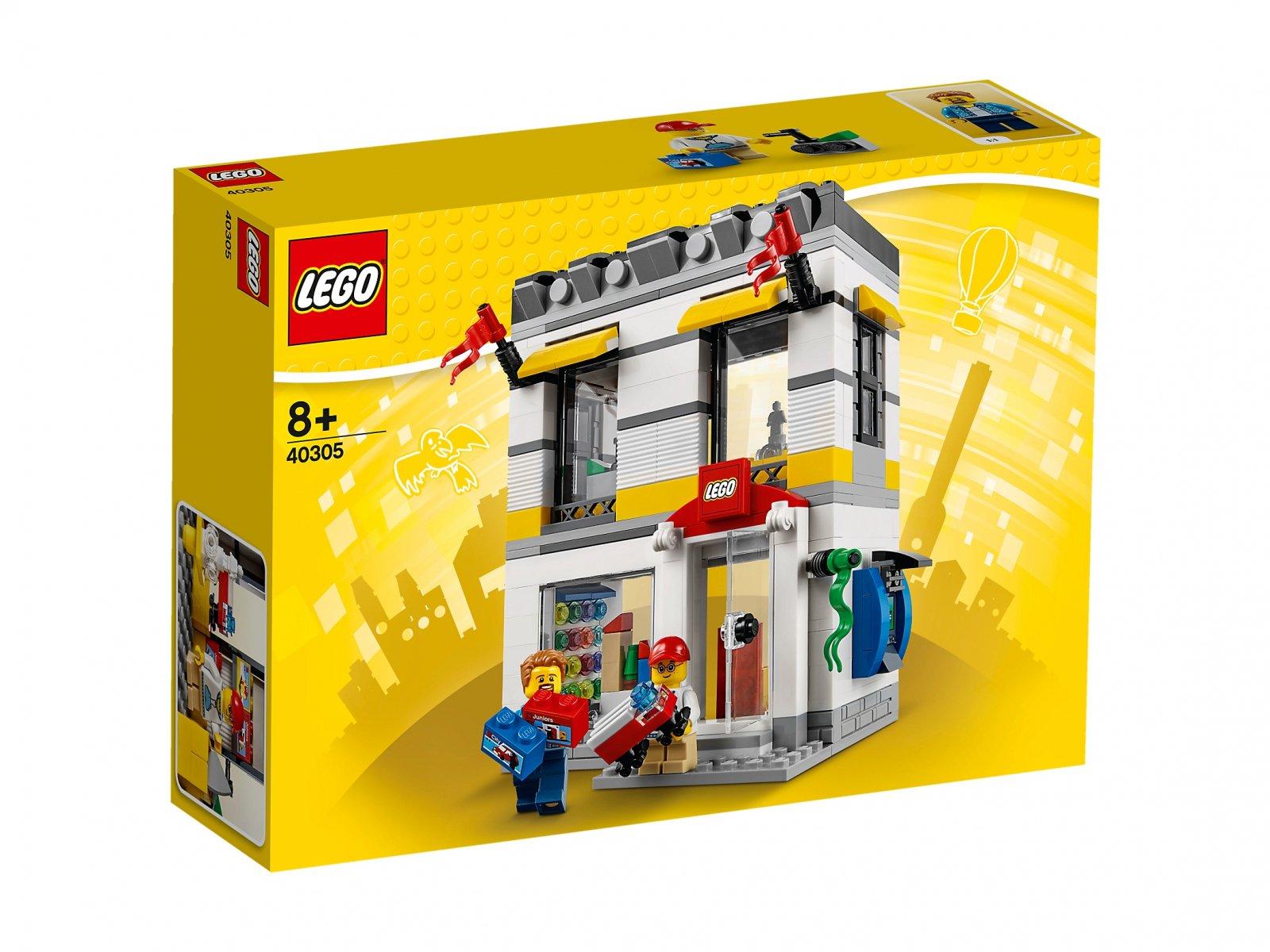 LEGO 40305 Sklep firmowy LEGO® w mikroskali