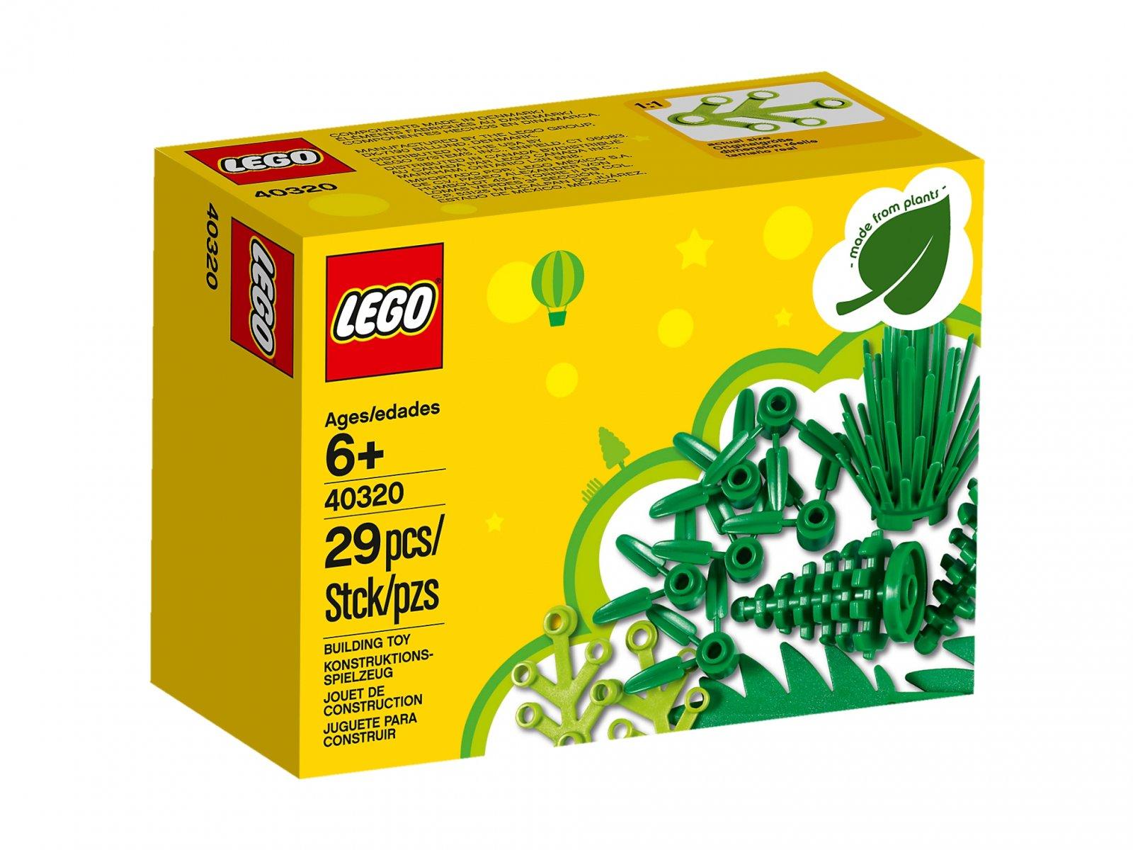 LEGO Rośliny zrobione z roślin 40320