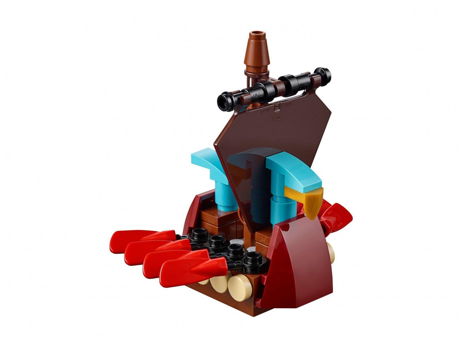 LEGO 40323 Okręt wikingów