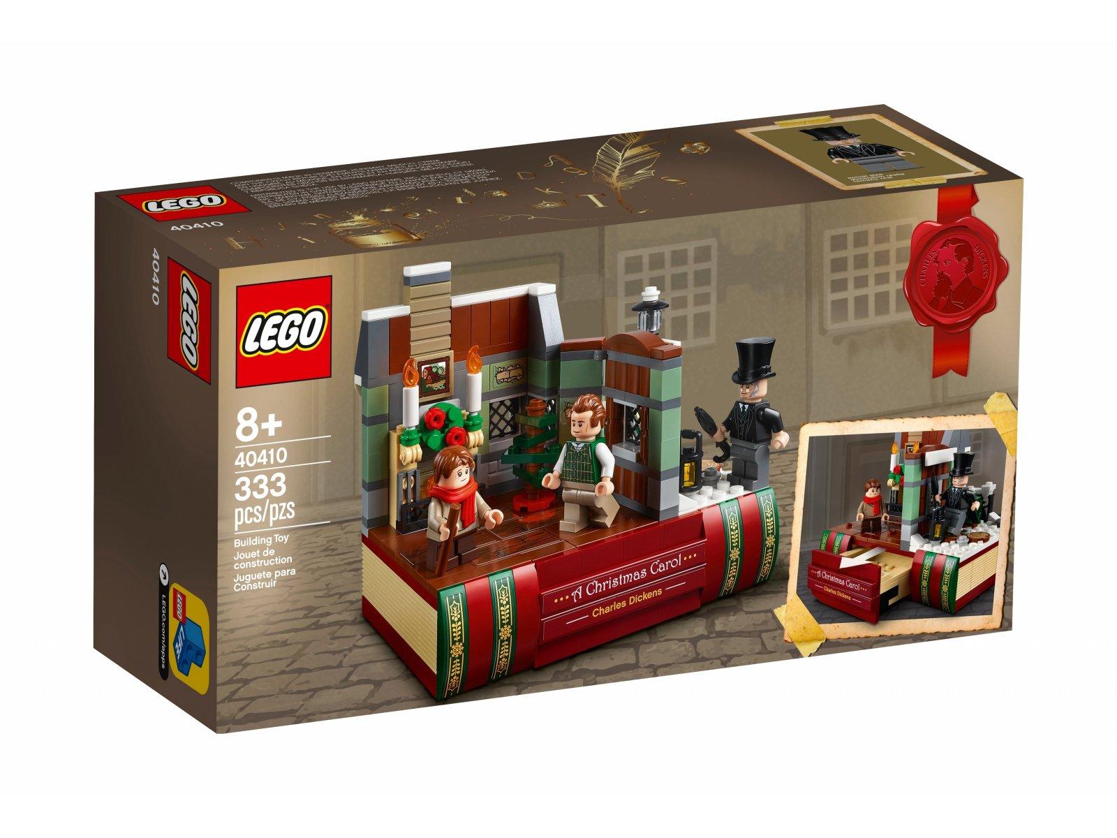 LEGO 40410 W hołdzie Charlesowi Dickensowi