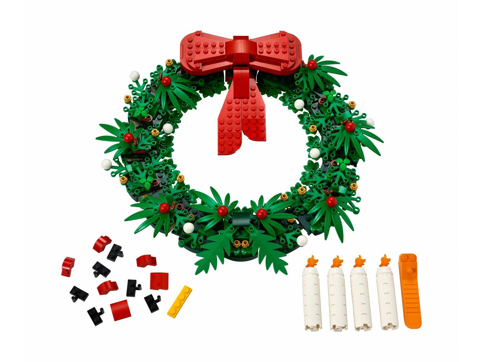 LEGO 40426 Bożonarodzeniowy wieniec 2 w 1