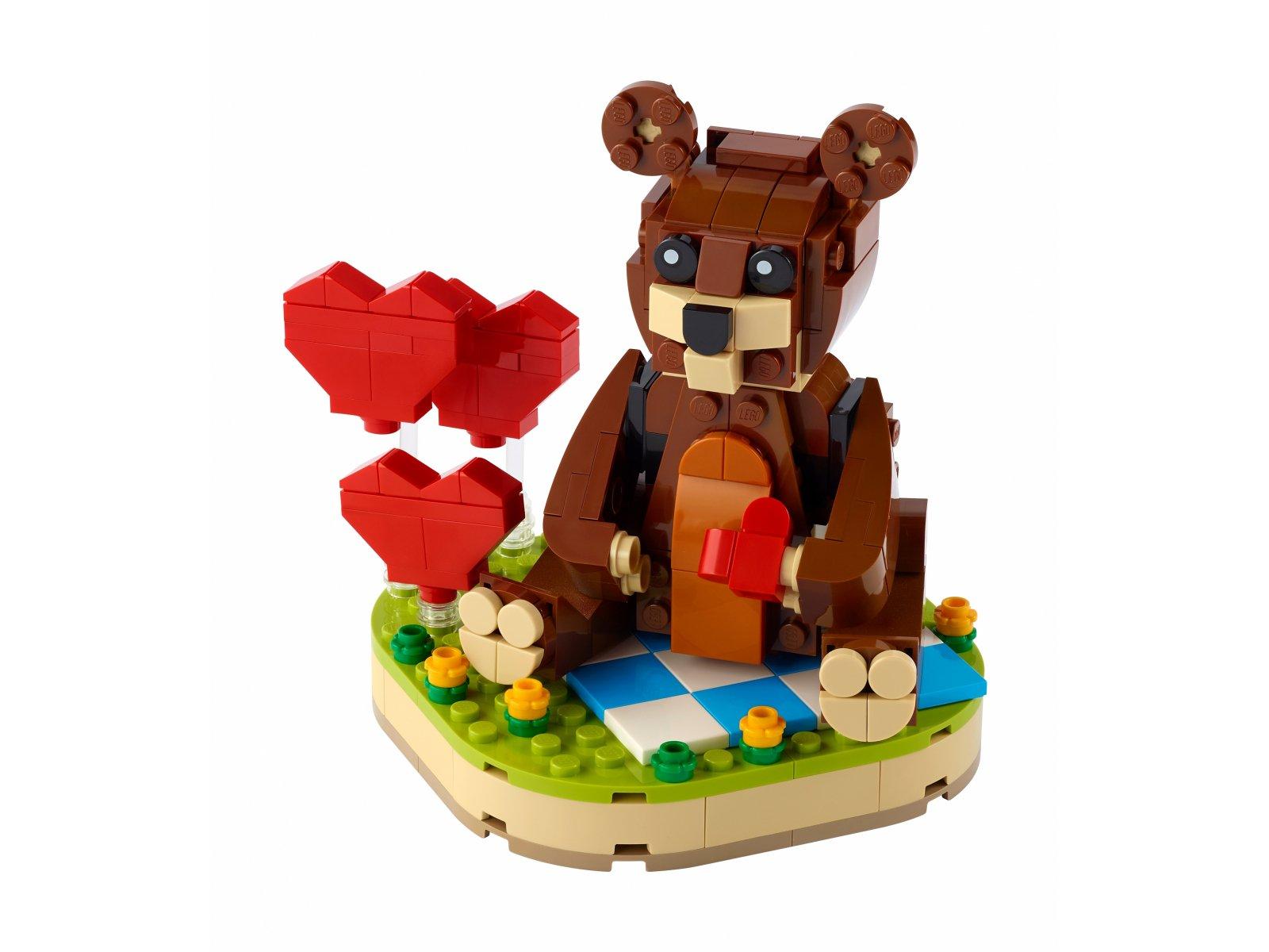 LEGO 40462 Walentynkowy niedźwiedź brunatny