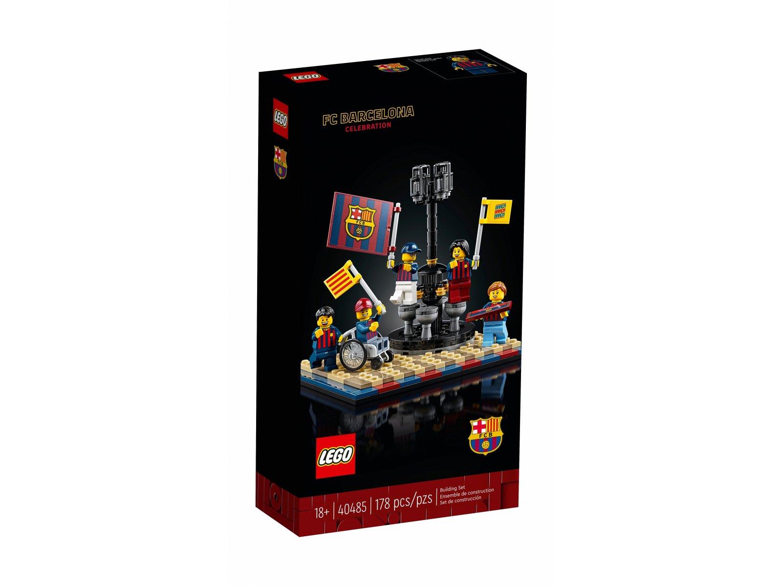 LEGO 40485 Zwycięstwo drużyny FC Barcelona