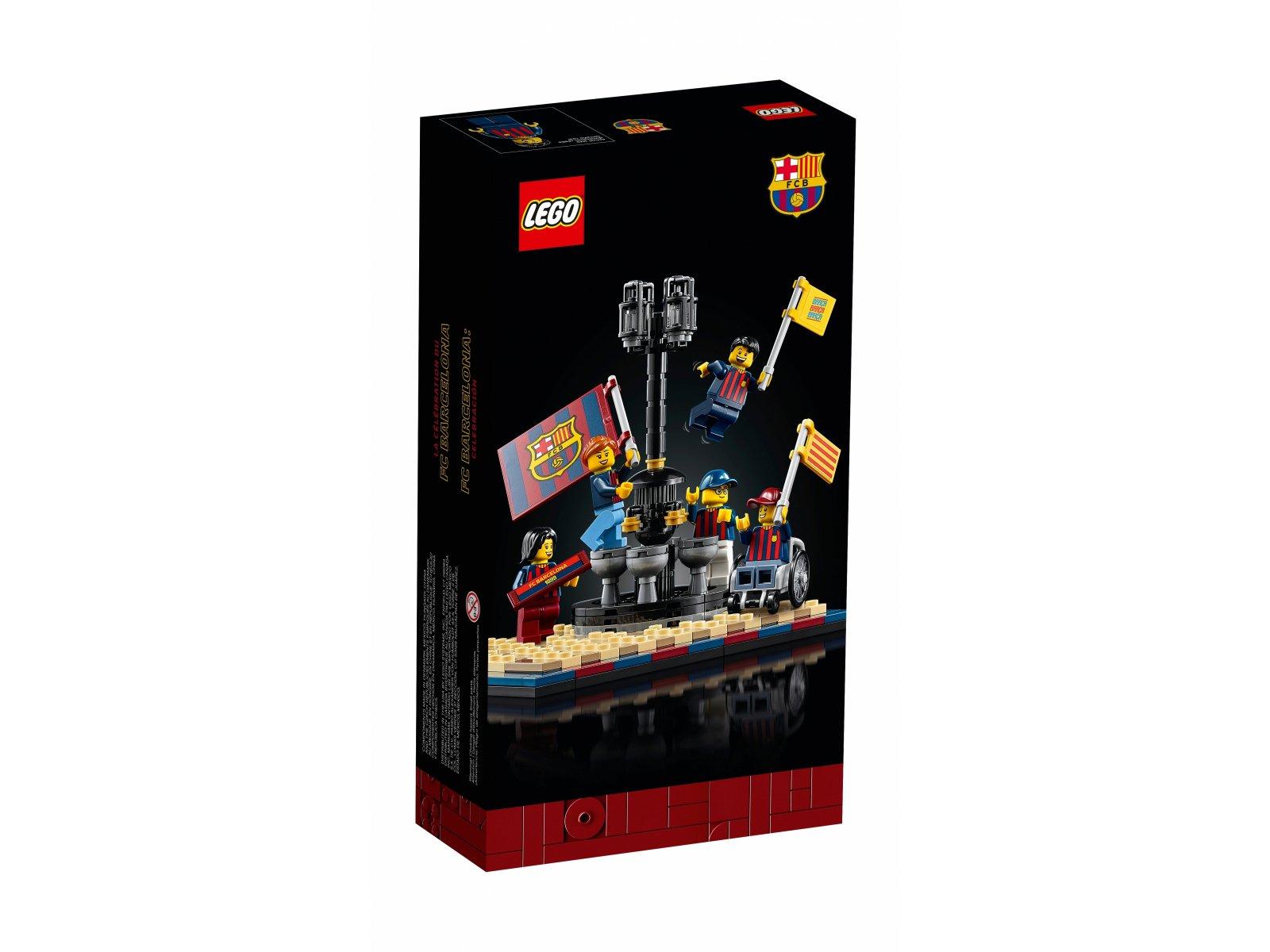 LEGO Zwycięstwo drużyny FC Barcelona 40485