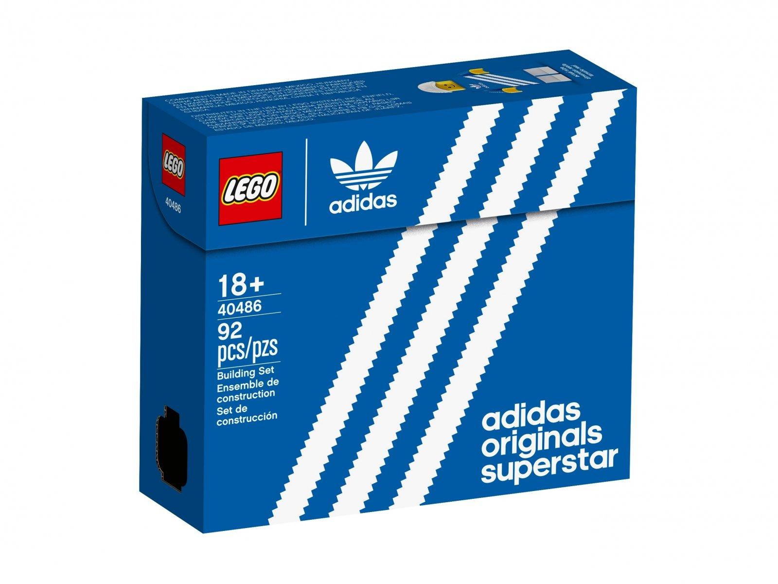 LEGO 40486 But adidas Originals Superstar
