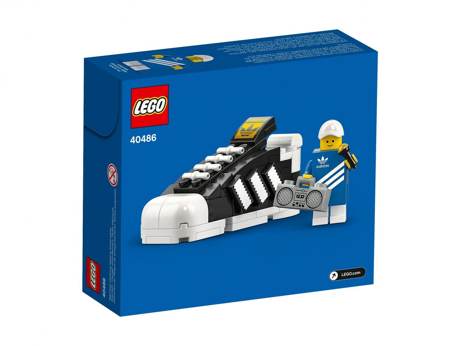 LEGO But adidas Originals Superstar 40486