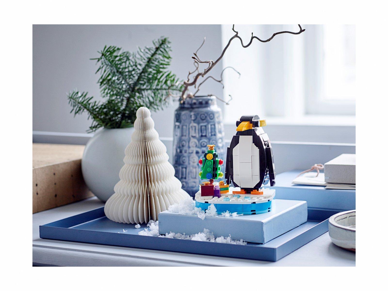 LEGO 40498 Bożonarodzeniowy pingwin
